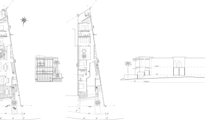 Halls Head Residence - Drawing Elevation Floor Plan