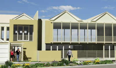 Pearson Street Residences - External Street View